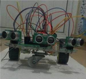 农业田间行走机器人